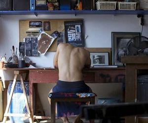 art, artist, and boy image