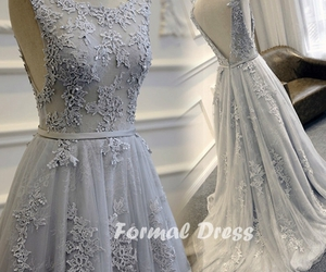 dress, prom dress, and evening dress image