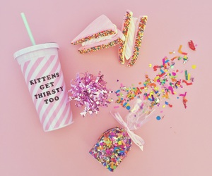 balloons, luxury, and sprinkles image
