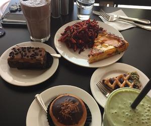 brownies, food, and pie image