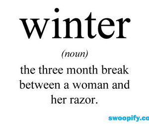 winter, funny, and woman image