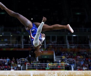 girl, gymnastics, and olympic games image