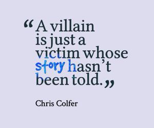 villain, quote, and story image