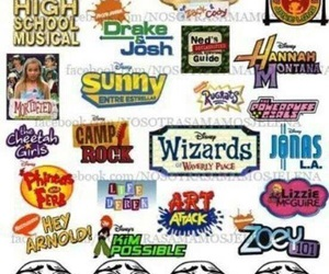 disney channel, hey arnold, and zoey 101 image