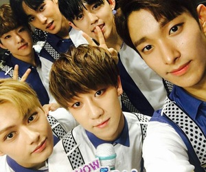 Seventeen, jun, and mingyu image