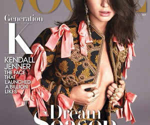 cover, vogue, and kendall jenner image