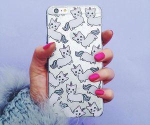 unicorn, case, and cat image
