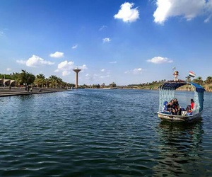 baghdad, blue, and cities image