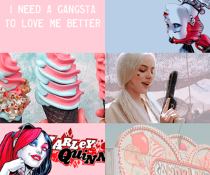 aesthetic and harley quinn image