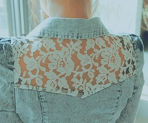 fashion, lace, and jacket image