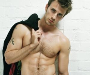 chris evans, handsome, and men image