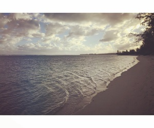 beach, date, and mauritius image
