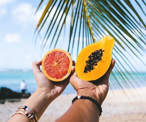 summer, fruit, and life image