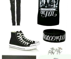 band members, skinny jeans, and punk+ image