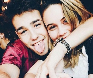 bea miller, couple, and jacob whitesides image