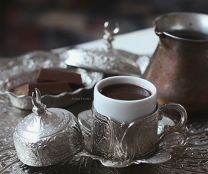arabic, coffee, and snack image