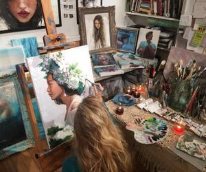 art, alternative, and paint image