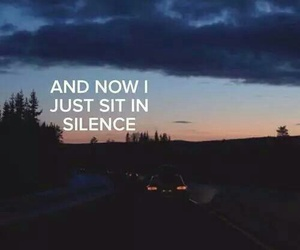 silence, twenty one pilots, and car radio image