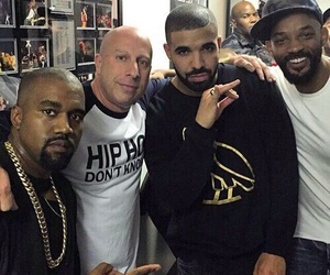 Drake, ghetto, and will smith image