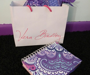 floral, paisley, and planner image