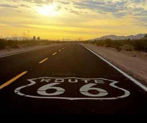 Road Trip, route 66, and travel image