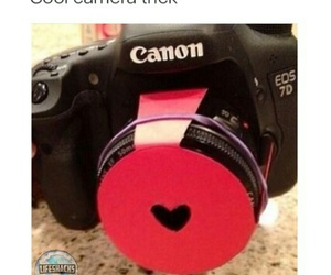 camera, picture, and heart image