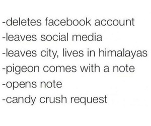 facebook, funny, and candy image
