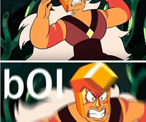boi, jasper, and steven universe image