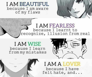 anime, beautiful, and lover image