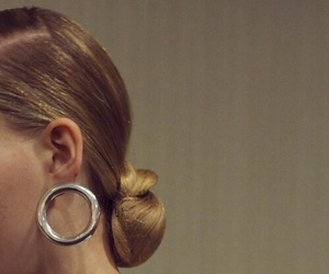 earrings, fashion, and model image