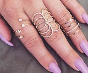 fake nails, nail art, and gel nails image