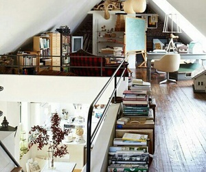 home, house, and book image