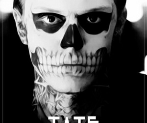 american horror story, tate langdon, and evan peters image
