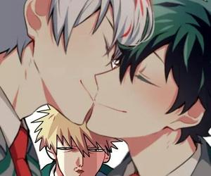anime, boku no hero academia, and izuku midoriya image