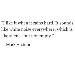 quote and rain image
