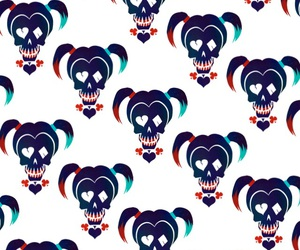 wallpaper, suicide squad, and pattern image