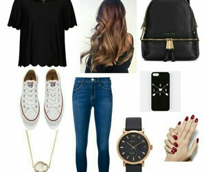 casual, outfit, and besutiful image