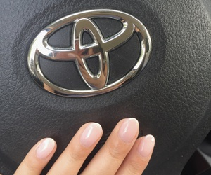 2016, nails, and Toyota image