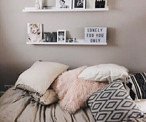bedroom, hipster, and pretty image
