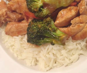 broccoli, Chicken, and pepper image