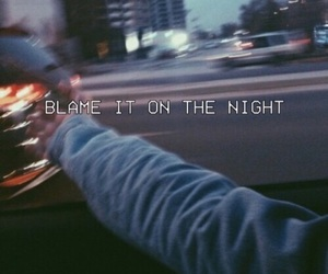 night, grunge, and blame image