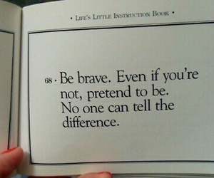 quotes and brave image