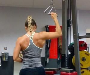 fitness, gif, and gym image