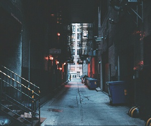 grunge, city, and street image
