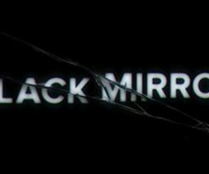 black and mirror image