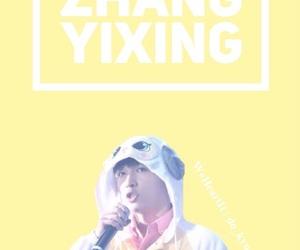 exo, pastel, and zhang yixing image