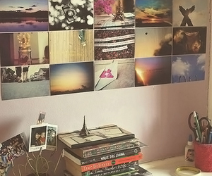 bedroom, book, and photo image