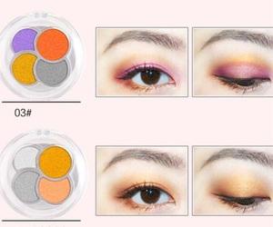 art, blush, and eyelashes image