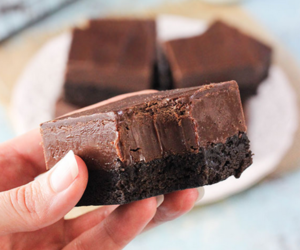 brownie, chocolate, and candy image