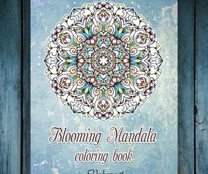 art therapy, coloring book, and etsy image